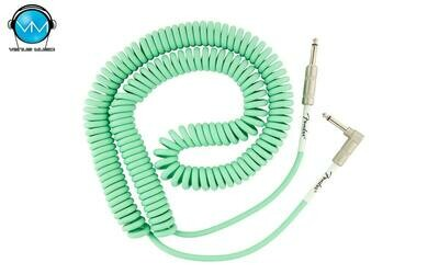 FENDER ORIGINAL SERIES COIL CABLE 30 FT SURF GREEN 0990823007