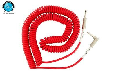 FENDER ORIGINAL SERIES COIL CABLE 30 FT FIESTA RED 0990823005