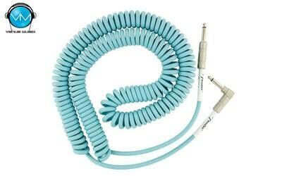 FENDER ORIGINAL SERIES COIL CABLE 30 FT DAPHNE BLUE 0990823006