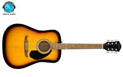 GUITARRA ACÚSTICA FENDER FA-125 DREADNOUGHT, WALNUT W/BAG SUNBURST 0971210732