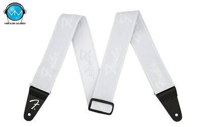 FENDER® WEIGHLESS™ RUNNING LOGO STRAP WHITE 0990642077