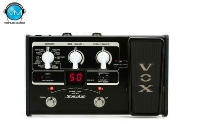 Multiefectos para Guitarra Vox StompLab 2G