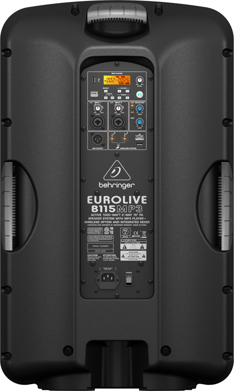 BAFLE BEHRINGER EUROLIVE B115MP3