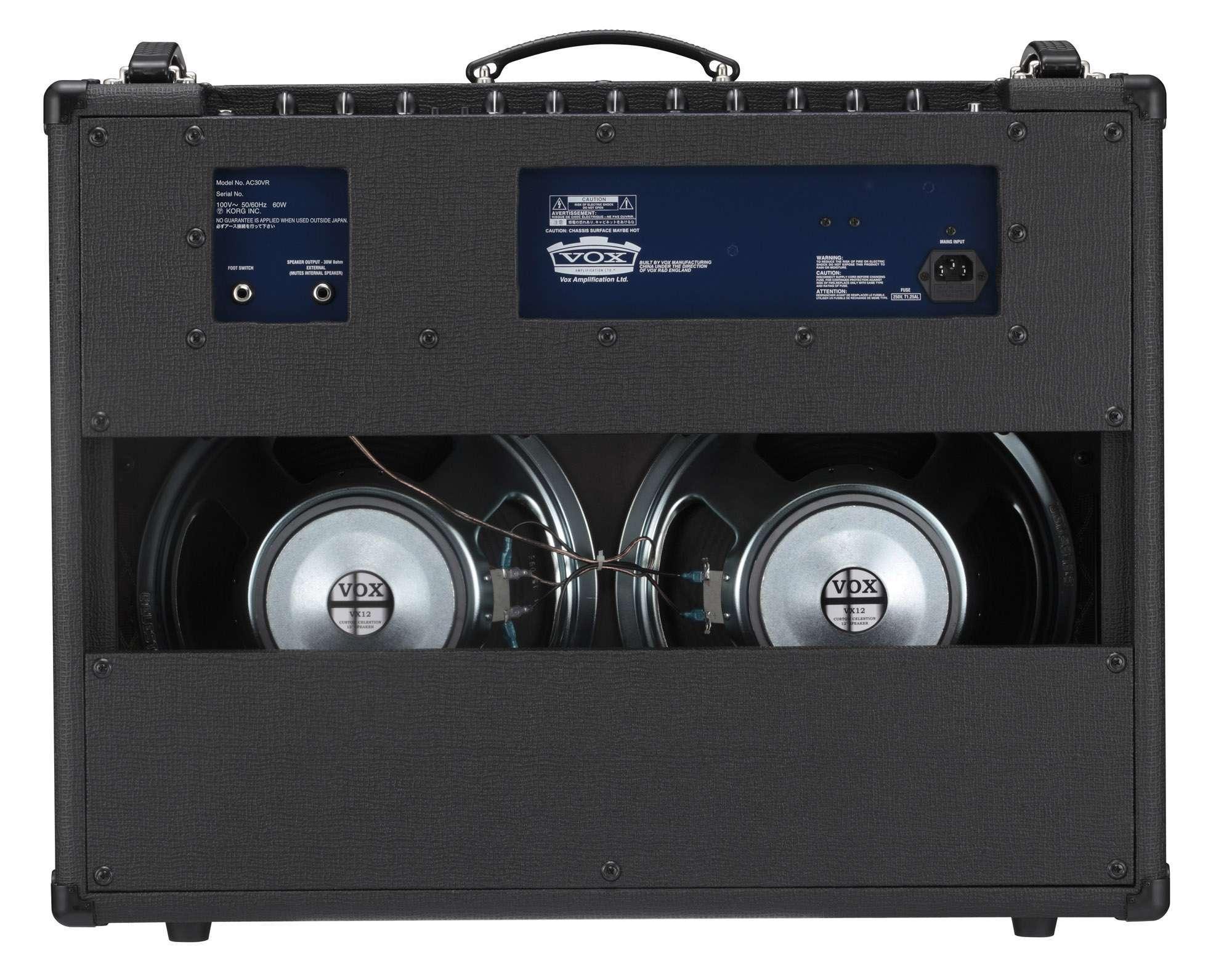 VOX AC30VR AMPLIFICADOR AC30 HIBRIDO ( VALVE REACTOR )