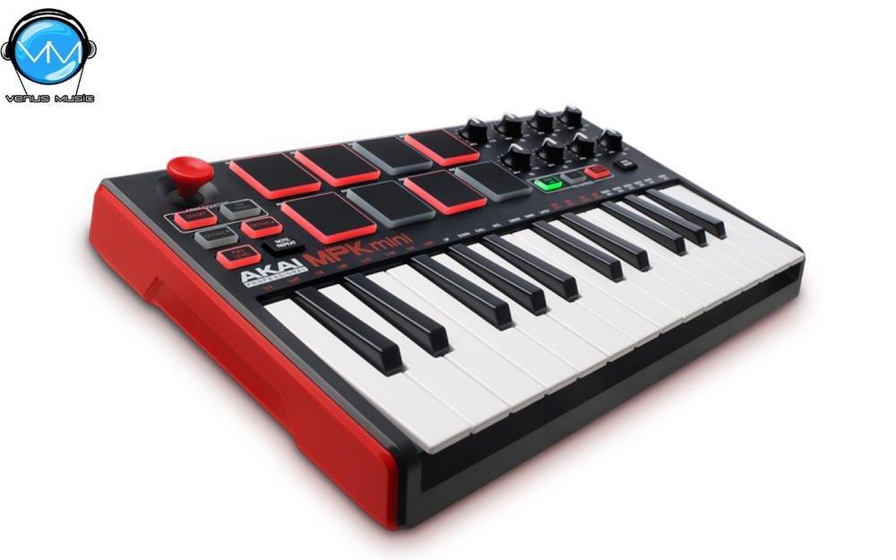 AKAI PROFESSIONAL MPK MINI MK2 TECLADO COMPACTO CONTROLADOR MIDI/USB 94832024