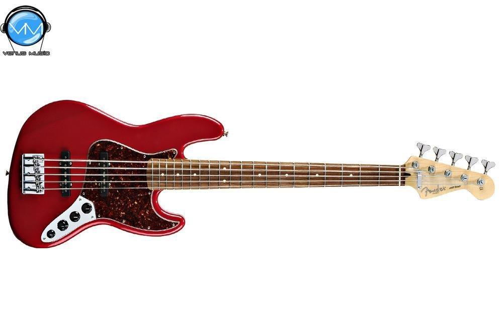 Bajo eléctrico Fender 5 cuerdas serie Deluxe Active Jazz Bass 8794821941