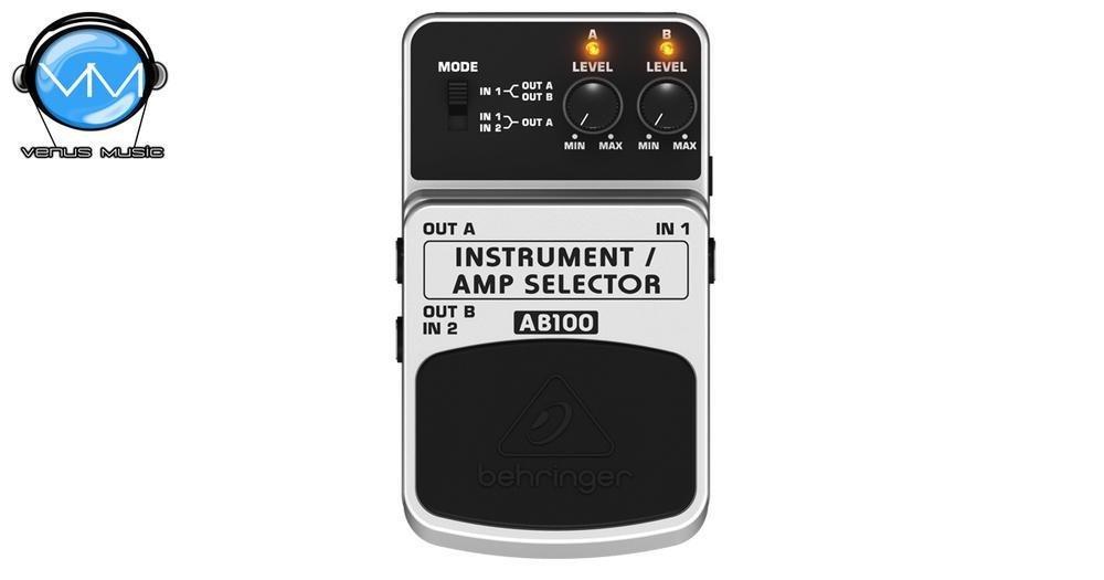 BEHRINGER GUITAR / AMP SELECTOR AB100 4902394