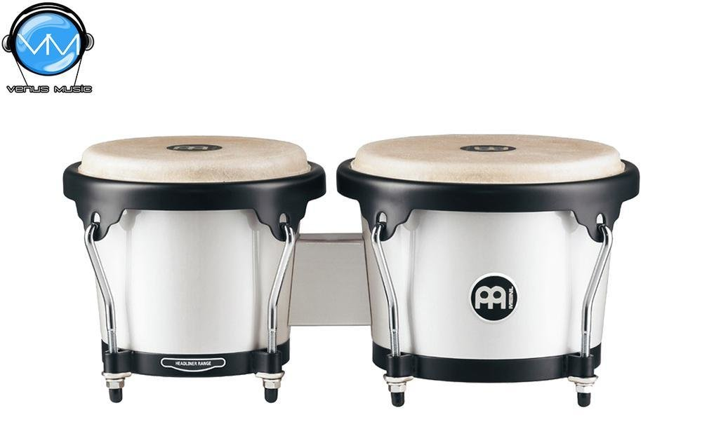 Bongos Meinl Pearl White HB100PW 4873292