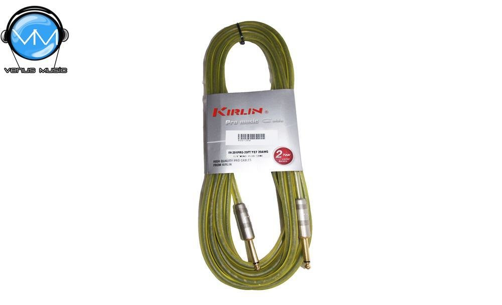 Cable para Instrumento Kirlin IM-201PRG-20FT/YEF 20FT 958230