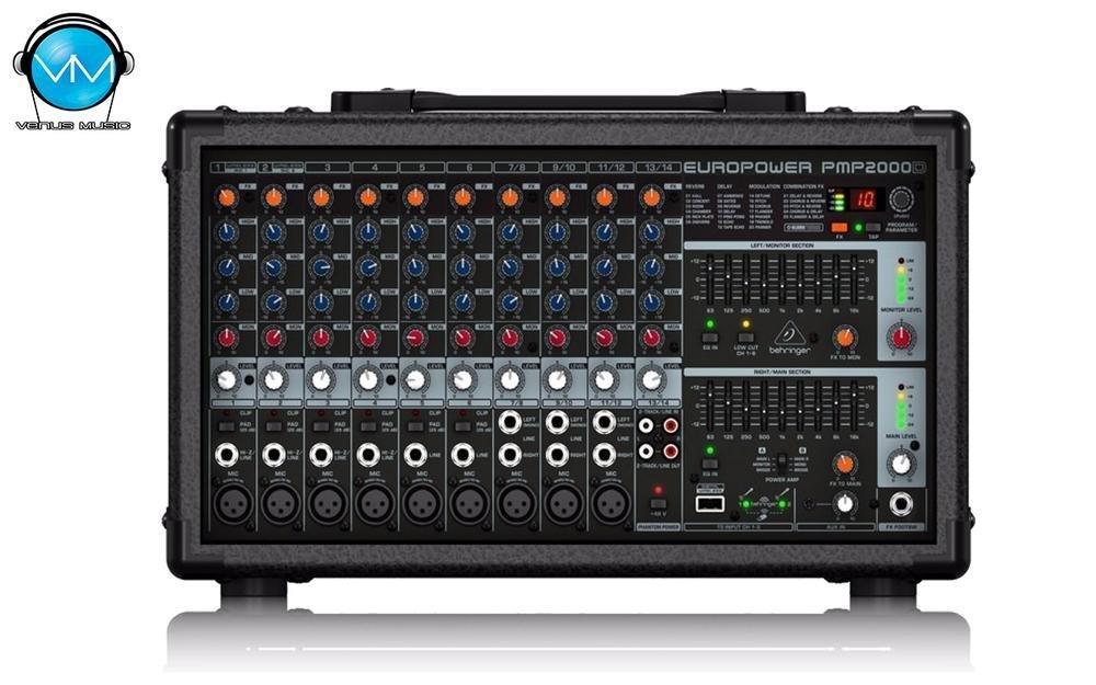 Consola Behringer PMP2000D 2x1000w 9843020192