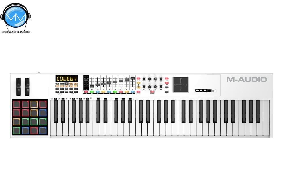CONTROLADOR MIDI USB CODE 61 CON X/Y PAD 87092350