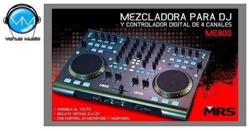 CONTROLADOR MRS ME-800 4 CANALES P/DJ 44556