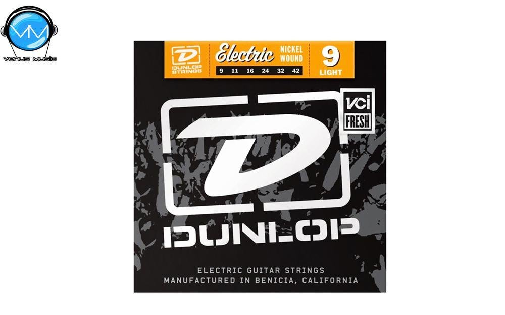 Dunlop DEN0942 Encordadura Guit. Eléctrica Light Nickel 9422