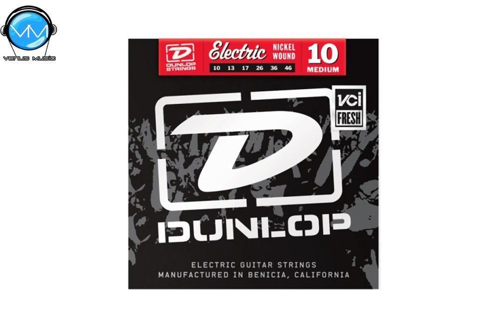 Dunlop DEN1046 Encordadura Guit. Eléctrica Med. Nickel 10467