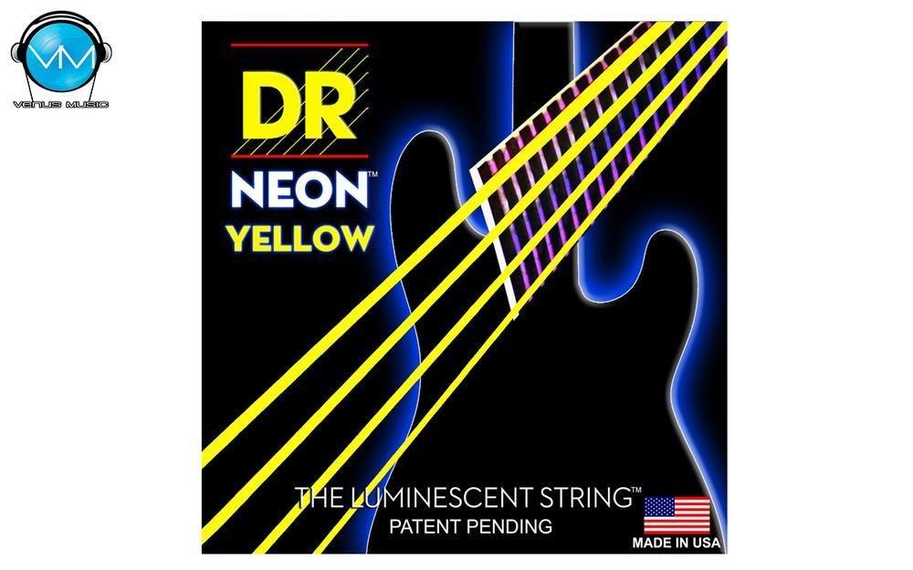Encordadura DR Bajo 4 cuerdas NEON Yellow 45-105 87023095