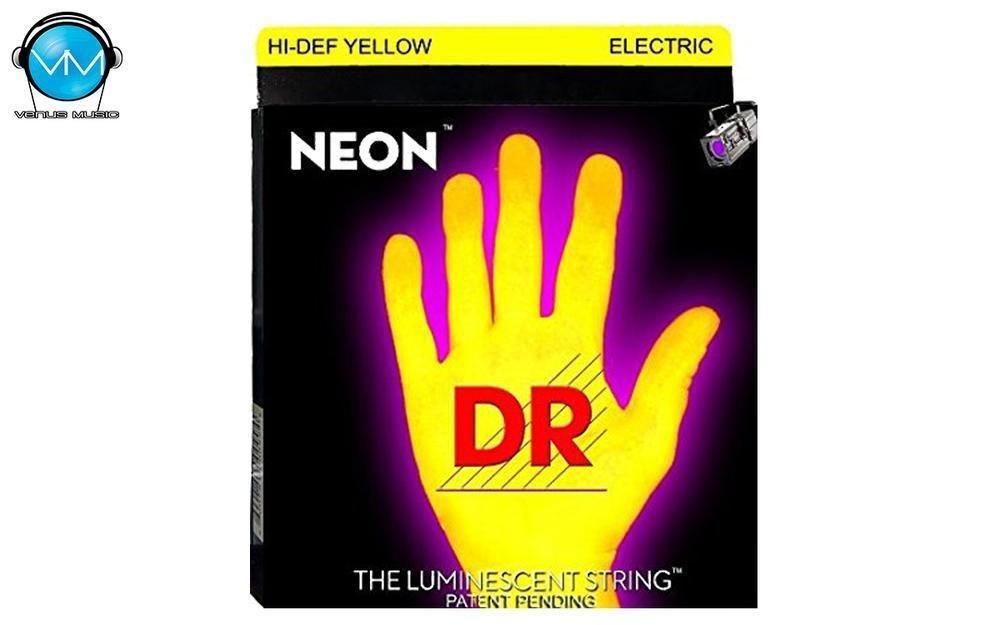 Encordadura DR Eléctrica NEON Yellow 10-46