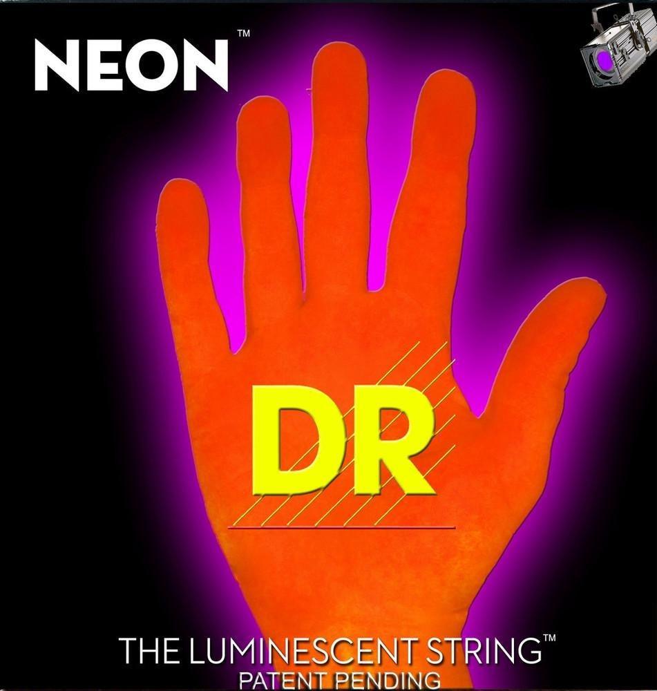 Encordadura DR Neon Super String Naranja 9432999