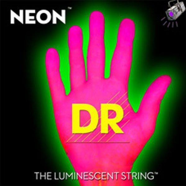 Encordadura DR Neon Super String Rosa 90499