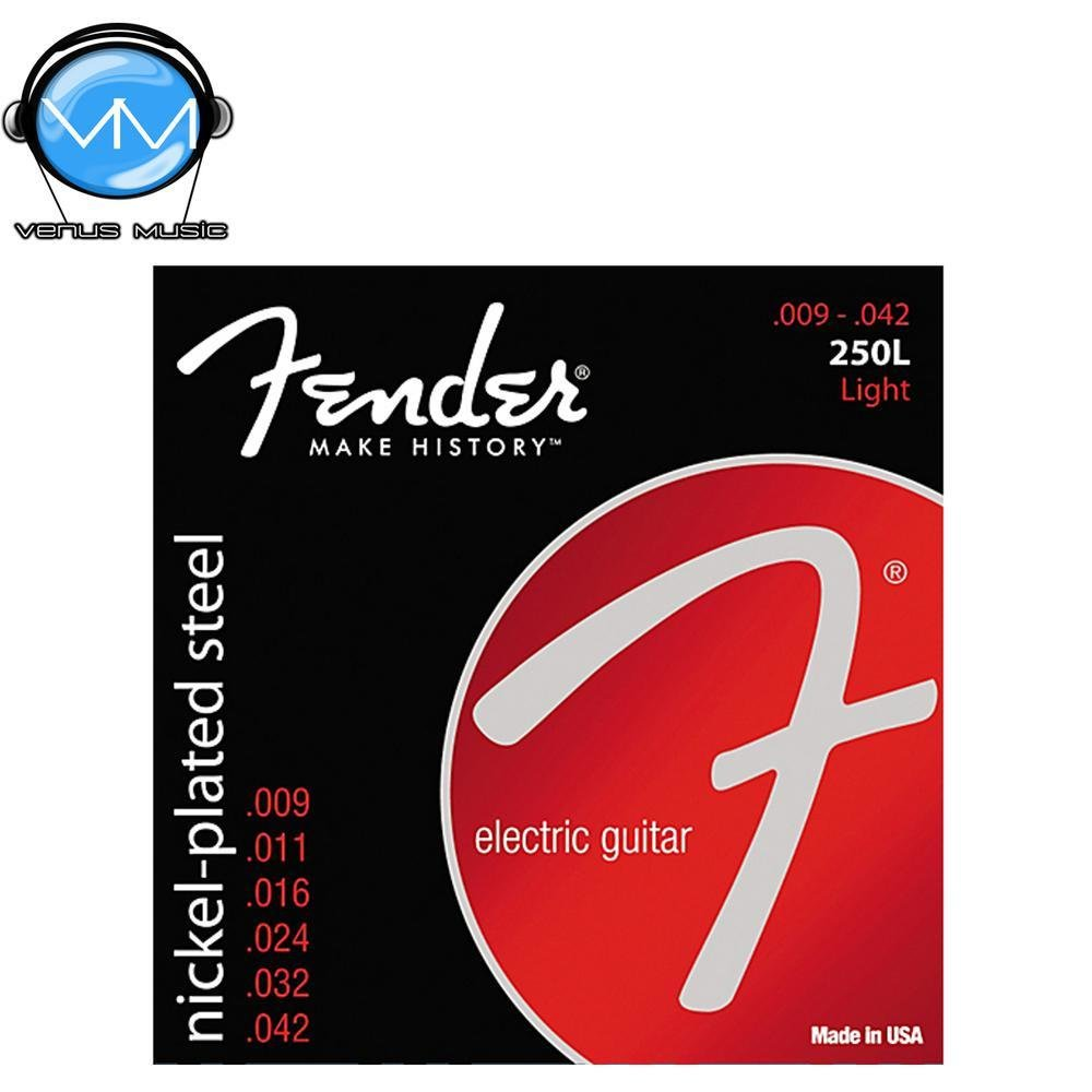 ENCORDADURA FENDER 250L NICKEL-PLATED STEEL 9490250