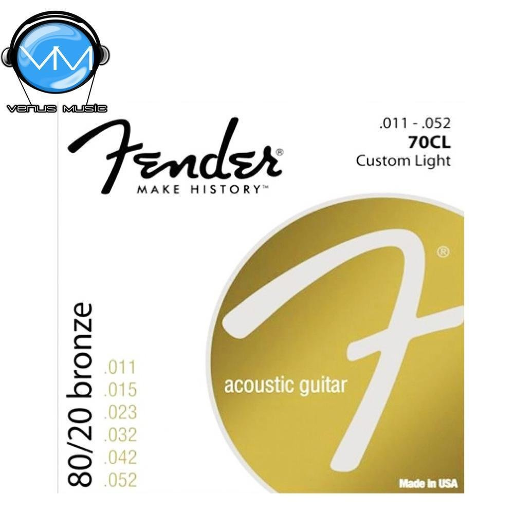 ENCORDADURA FENDER BRONZE 70CL