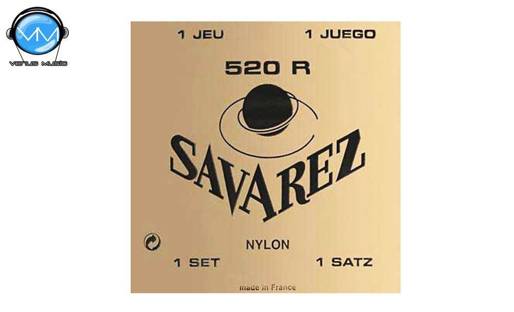 Encordadura Savarez 520R Tradicional Encordadura Guit. Tensión Normal 5204994