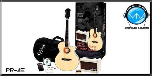 EPIPHONE PR-4E PLAYER PACK 56789