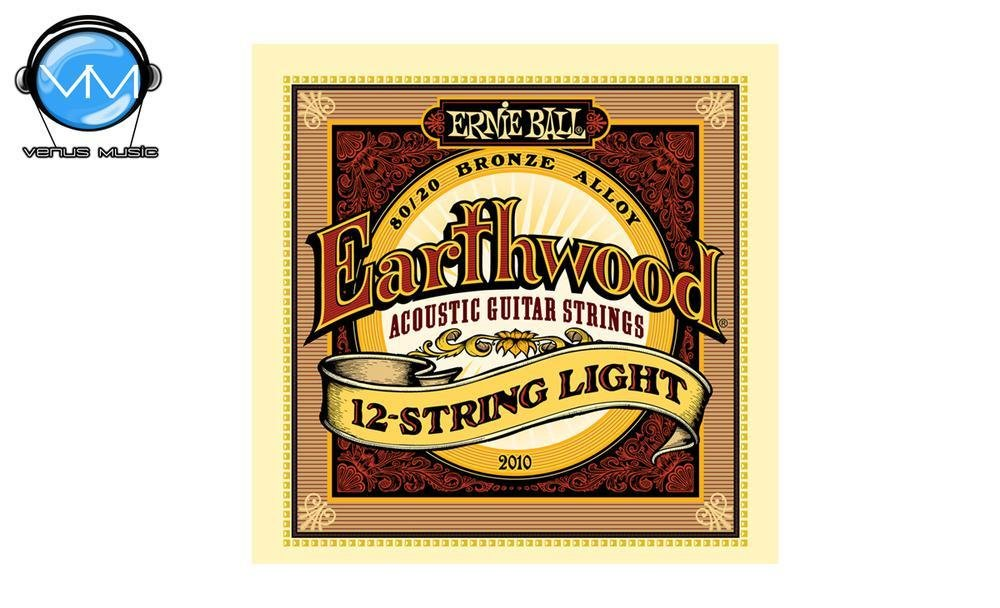 Ernie Ball 2010 Earthwood Encordadura Guit. Acust. 12 Cdas. 2010593
