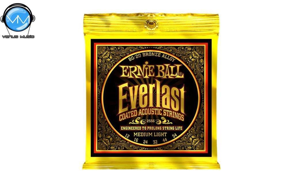 Ernie Ball 2556 Everlast MediumLight Encordadura Guit. Acust. 12-54 2556