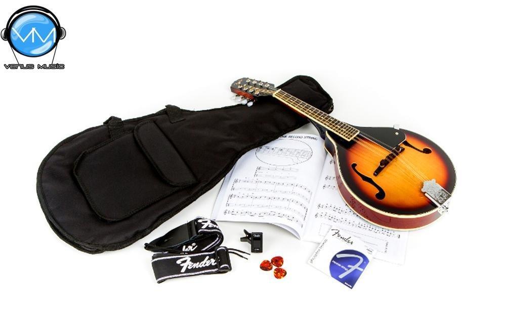 Fender Concert Tone Mandolin Pack Vintage Sunburst 999432
