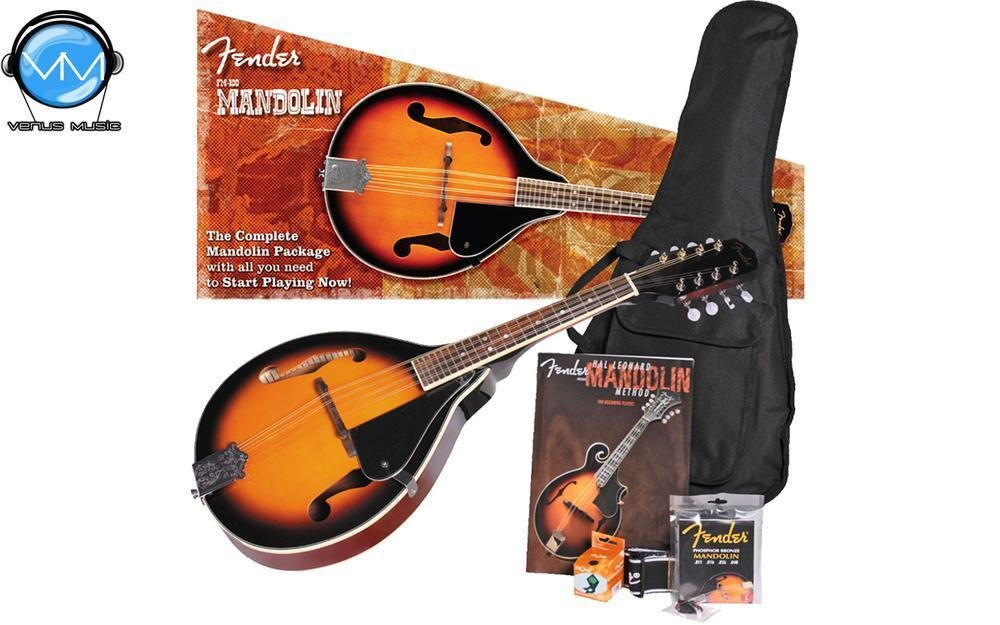 Fender FM-100 Mandolin Pack, Sunburst