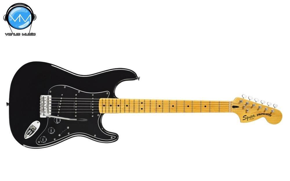 Fender Squier Vintage Modified 70s Black Strat Guitarra Eléctrica 87648789
