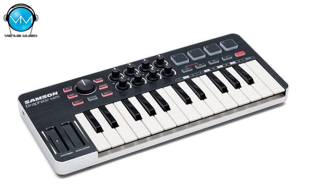 GRAPHITE 25 MINI CONTROLADOR MIDI USB 25 TECLAS 97809852