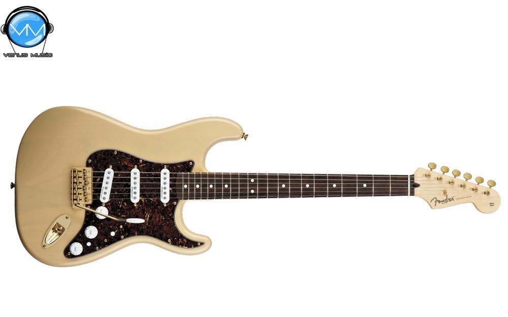 Guitarra eléctrica Fender Deluxe Players Strat® Honey Blonde,diapasón palo de rosa 9823402