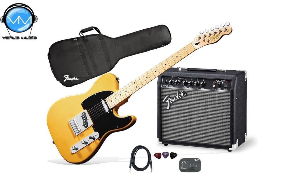 Guitarra Eléctrica Fender Squeir Affinity Telecaster Pack 78787