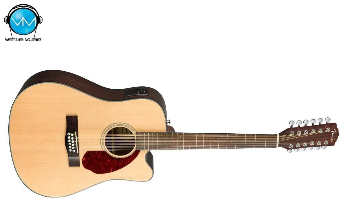 Guitarra Electroacústica Fender 12 Cdas con Estuche Rígido CD-140SCE-12 NATURAL 769565768
