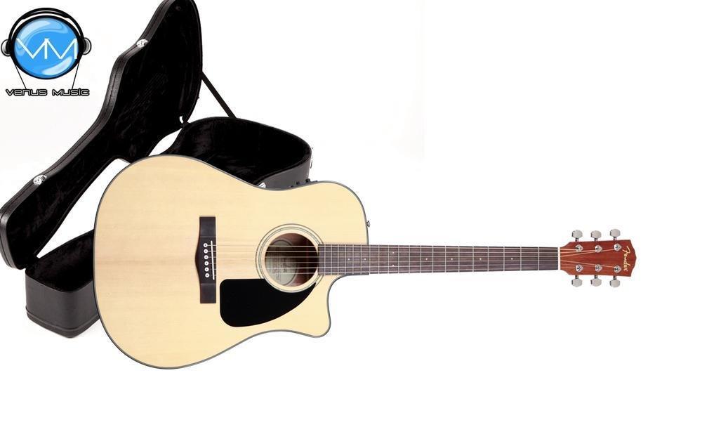 Guitarra Electroacústica Fender CD-60CE Con Estuche Rígido 75839