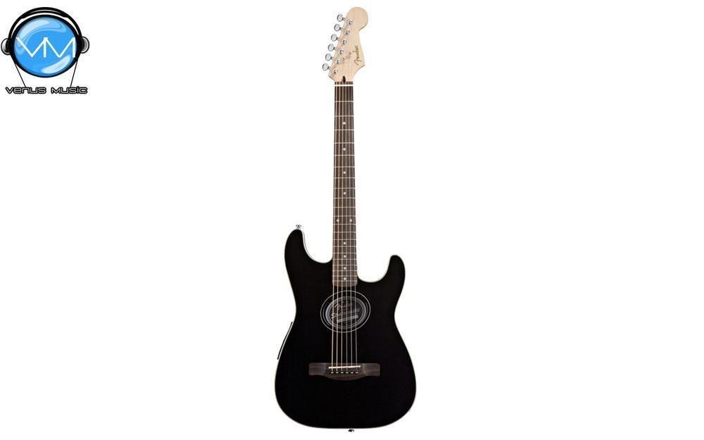 Guitarra Electroacústica Fender Stratacoustic Black