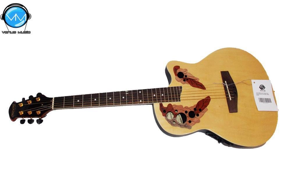 Guitarra Electroacústica McCartney Natural ovation