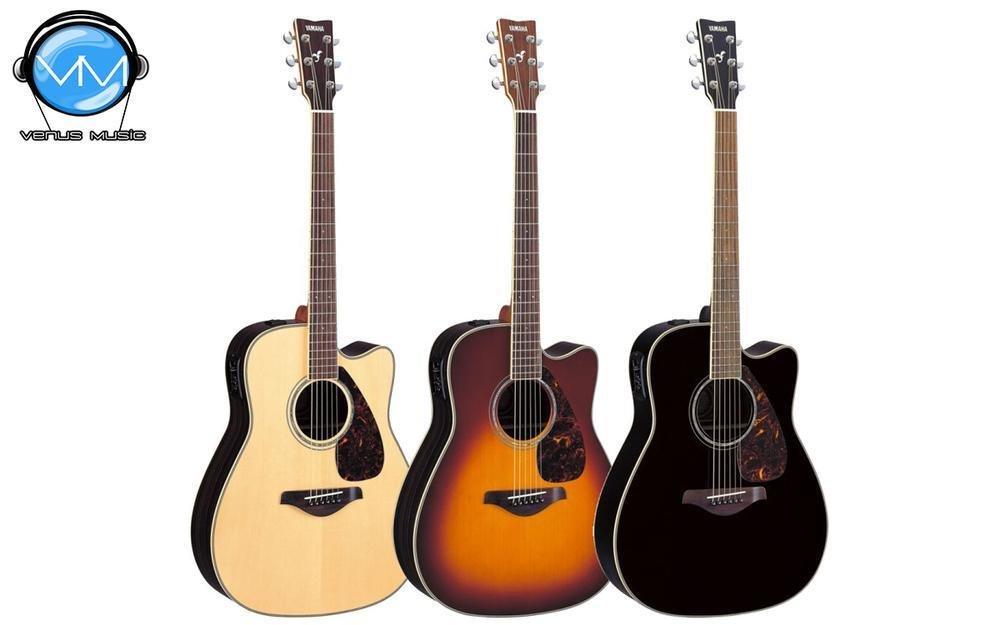 Guitarra Folk Electroacústica Yamaha FGX720SC 853293