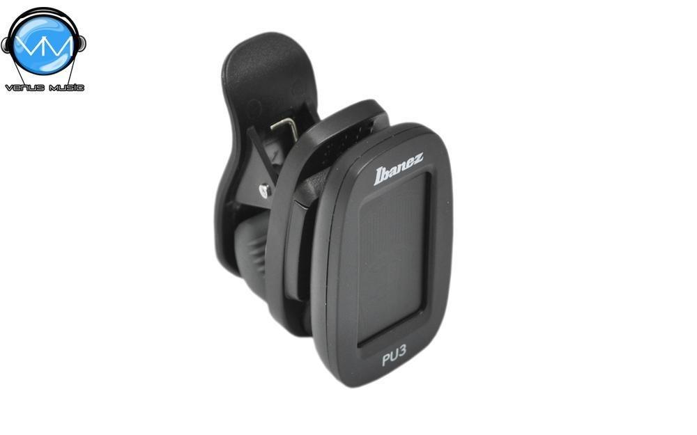 Ibanez PU3-BK Afinador Cromático de clip 859034