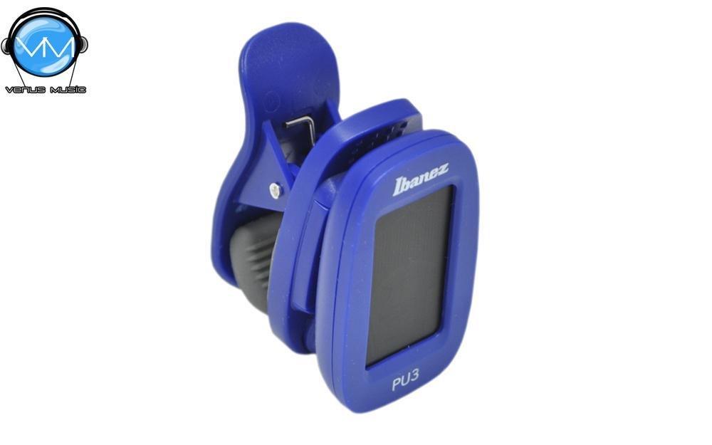 Ibanez PU3-BL Afinador Cromático de Clip 42199801209