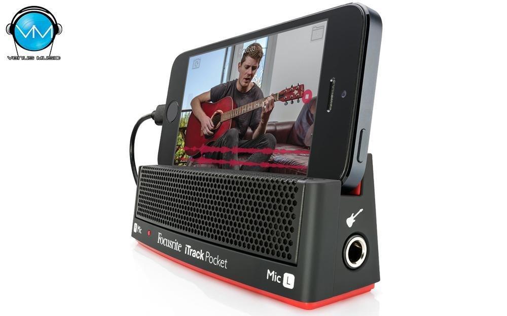 Interfaz De Audio Usb Focusrite Itrack Pocket Mois0002 80932