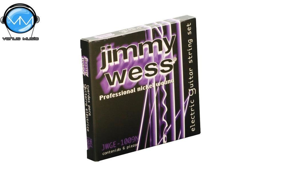 Jimmy Wess WN1009 Encordaduras Guit. Eléctrica