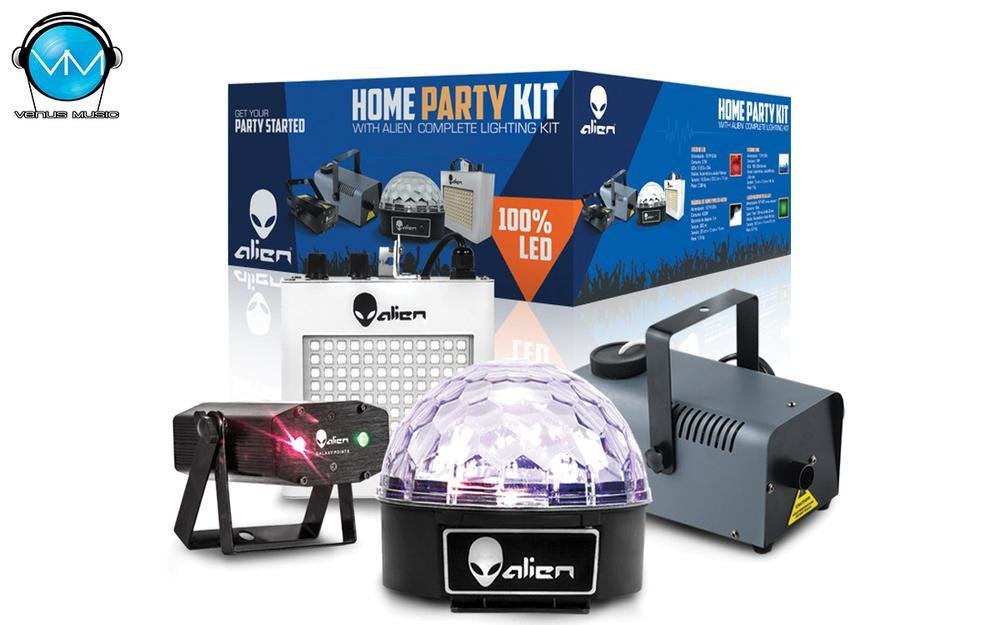 Kit Home Party III Luces Alien 49329432092