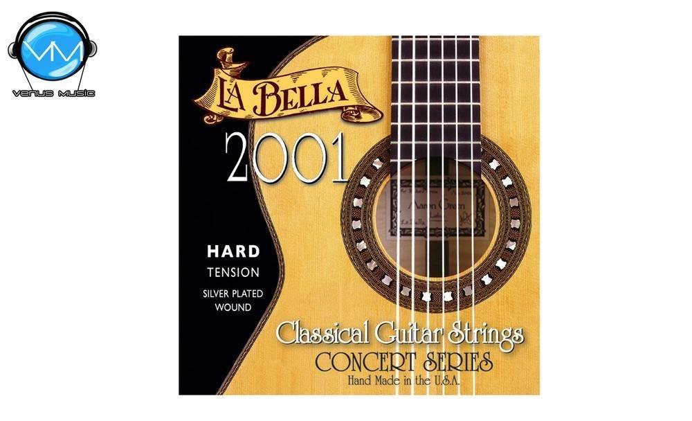 La Bella 2001HARD Encordadura Guit. Clásica Tensión Hard