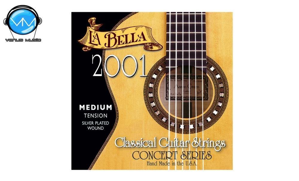 LA BELLA 2001ME Encordadura Guit. Clásica Tensión Med. 200188