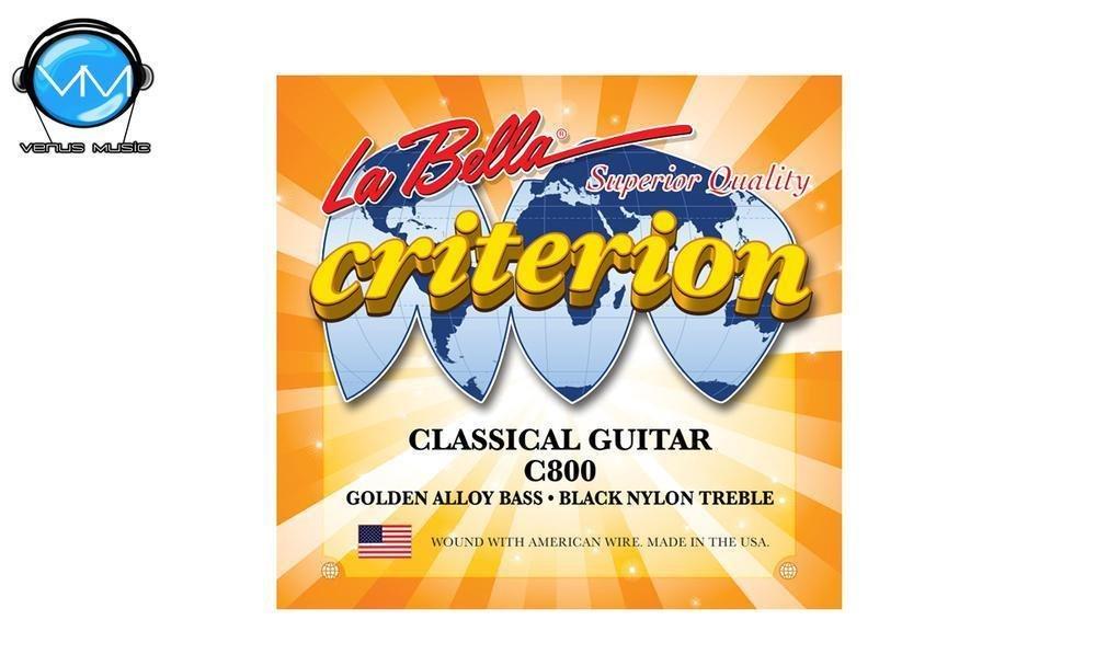 LA BELLA C800 Criterion Encordadura Guit. Clásica Ny