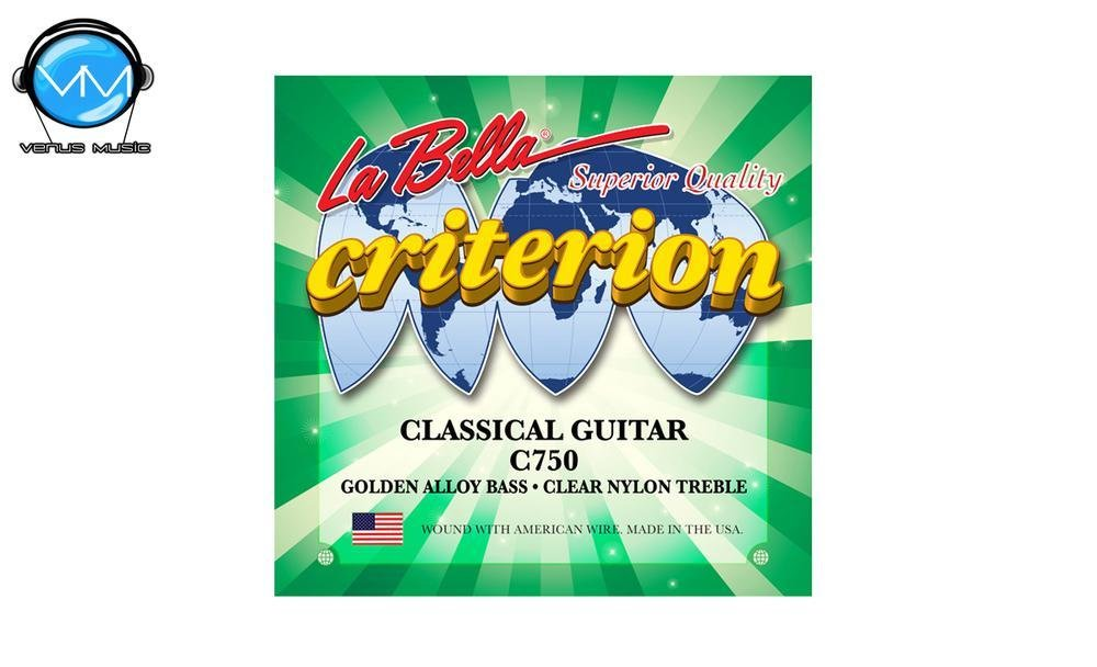 LA BELLA Criterion C750 Encordadura Guit. Clásica Ny 75001