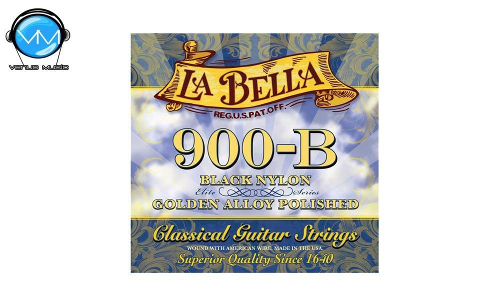 LA BELLA Ny 900B Encordadura Guit. Clásica Golden 90085