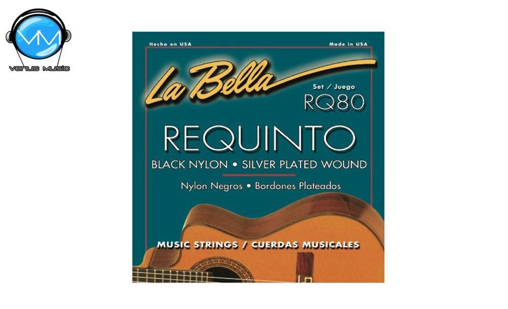 LA BELLA RQ80 Encordadura Requinto 809979
